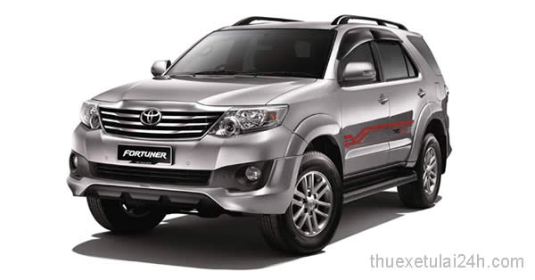 Cho thue xe Toyota Fortuner V TRD Sportivo 2.7 AT