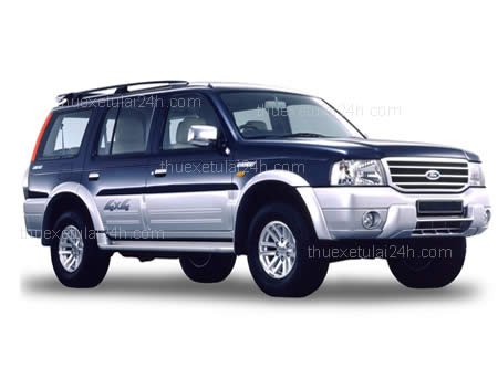 Cho thue xe tu lai Fod-Everest 7 cho