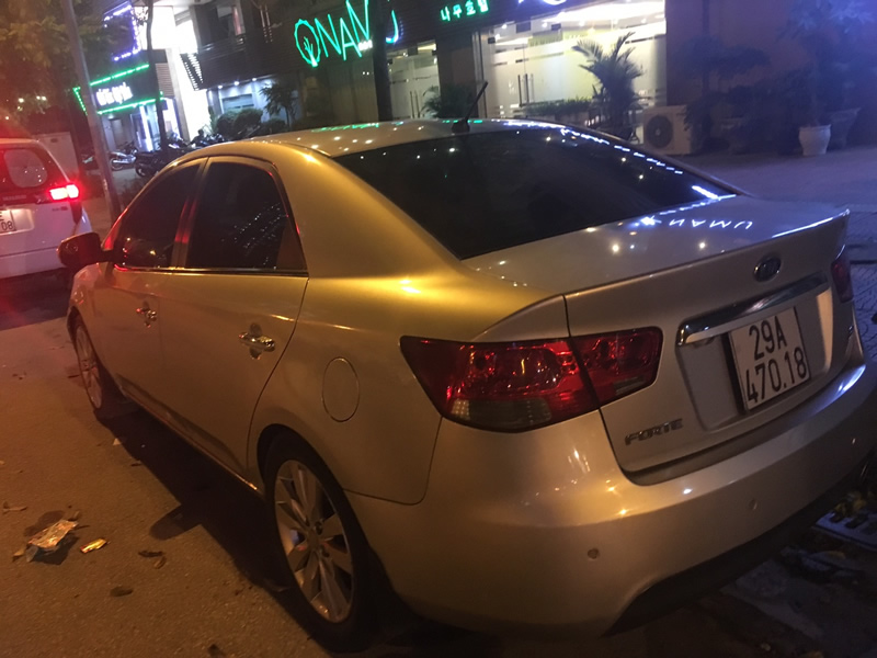 Cho thuê xe tự lái Kia forte-2