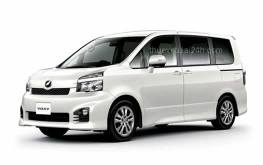 Cho thue xe tu lai Toyota Voxy