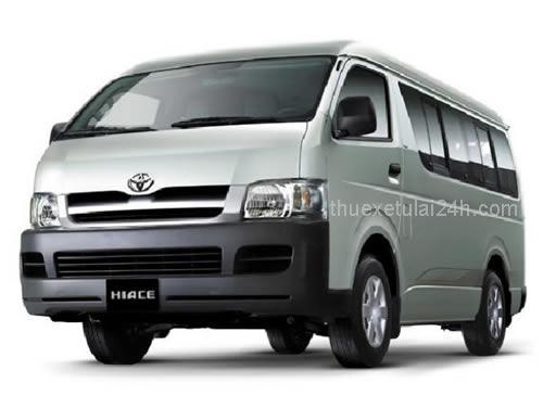 Cho thue xe tu lai Toyota Hiace Commuter 16 cho