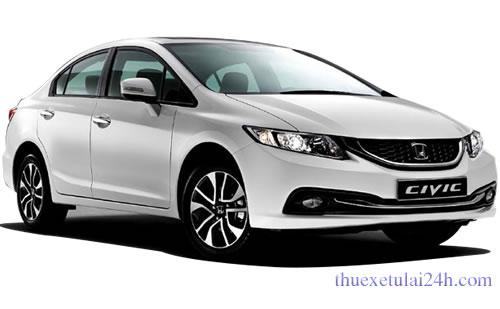 Thuê xe có lái Honda Civic 4 - 5 chỗ