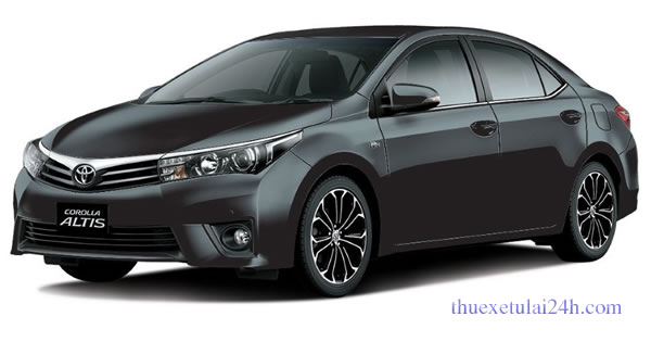 thuê xe có lái Toyota Altis